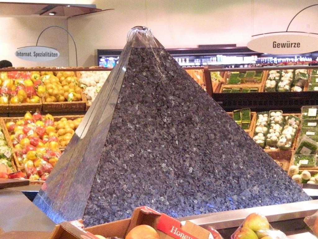 Wasserpyramide Laprador