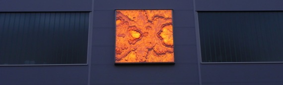 Hinterleuchtete Onyxplatte