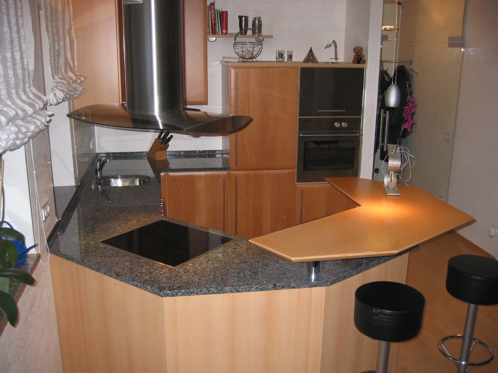 Küchenarbeitsplatte Laprador Blue Pearl