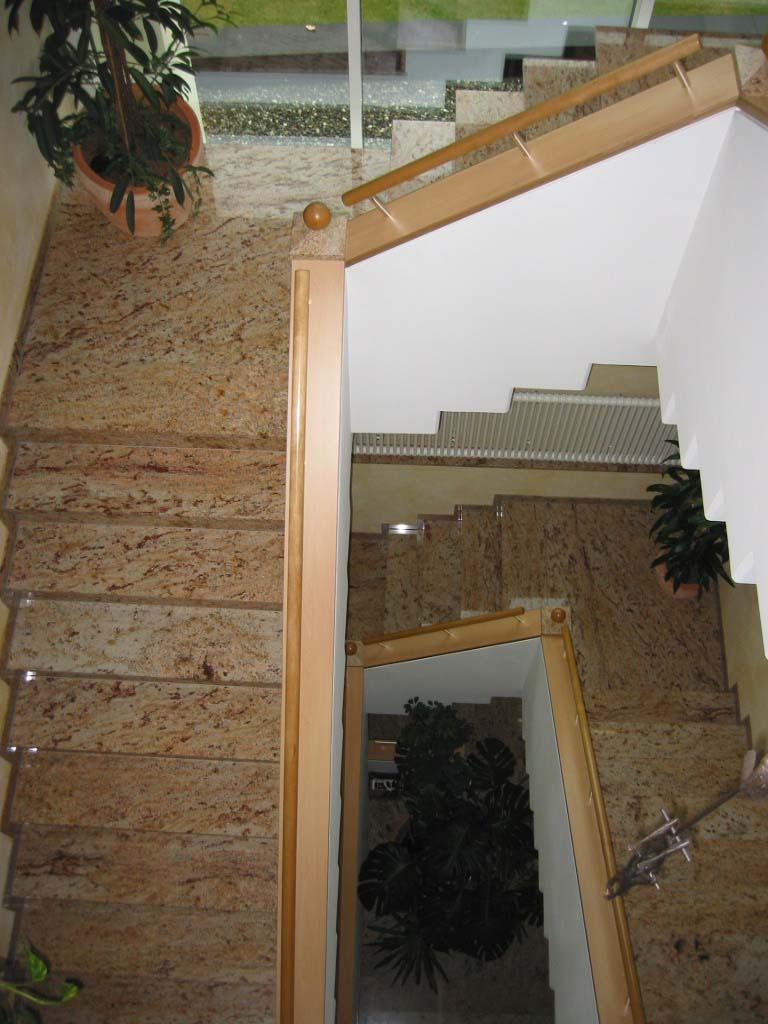Treppenanlage Bürogebäude Shivakashi